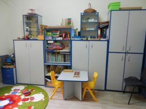 Pokój do badania w Powiatowej Poradni Psychologiczno-Pedagogicznej, Filia w Wojniczu
