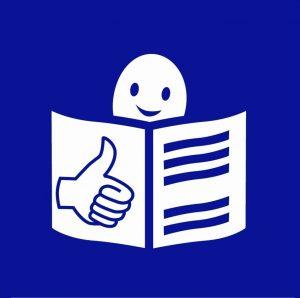 Logo wersji łatwej do czytania i zrozumienia (ETR)